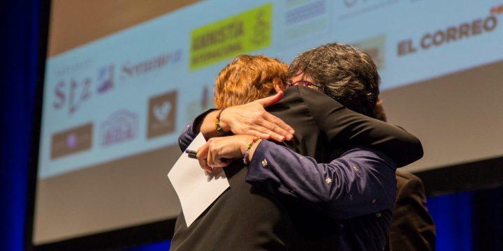 Entrega del Premio Serantes a Anabel Alonso