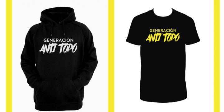 'Generación Anti Todo': Camisetas y sudaderas de la película de Eskorbuto