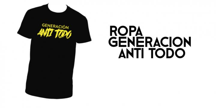 Generación Anti Todo   Camisetas y sudaderas de la película de Eskorbuto ·    fd2beaa452916