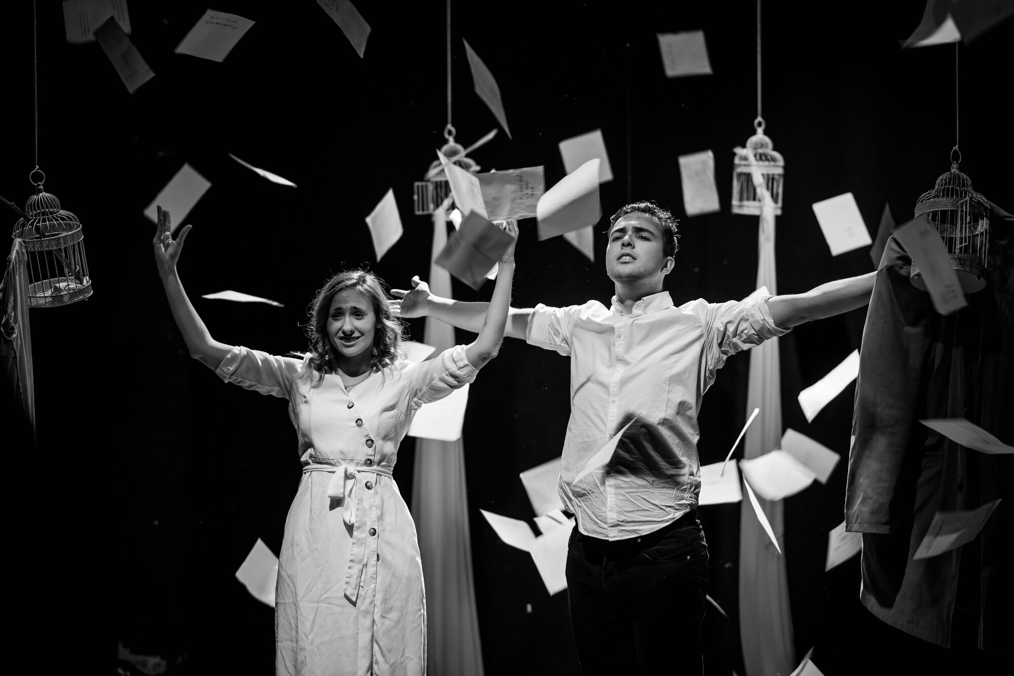 Obra de teatro 'Dalias' de Eriz Cerezo y Zaloa Gómez